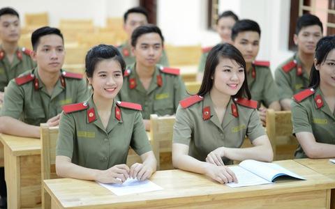 Trường khối công an dự kiến tuyển 3.300 chỉ tiêu